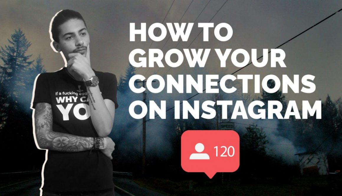 How to grow on Instagram - Kamal Nehme